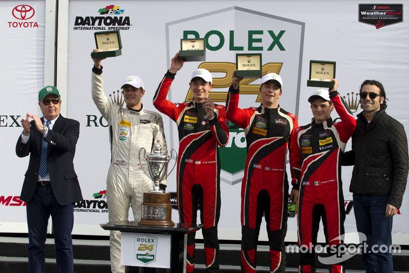 Winnaar PC, #38 Performance Tech Motorsports ORECA FLM09: James French, Kyle Mason, Patricio O'Ward, Nicholas Boulle