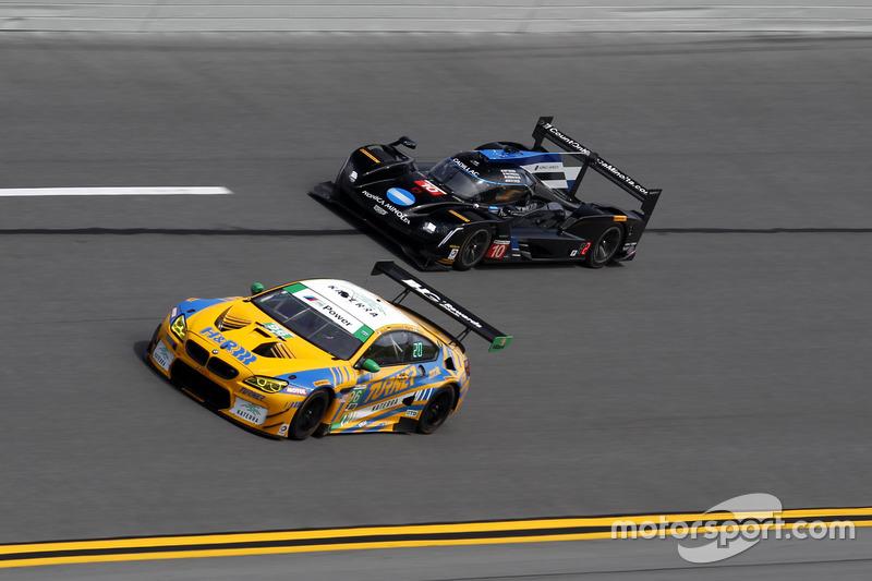 #96 Turner Motorsport BMW M6 GT3: Jens Klingmann, Justin Marks, Maxime Martin, Jesse Krohn and #10 W
