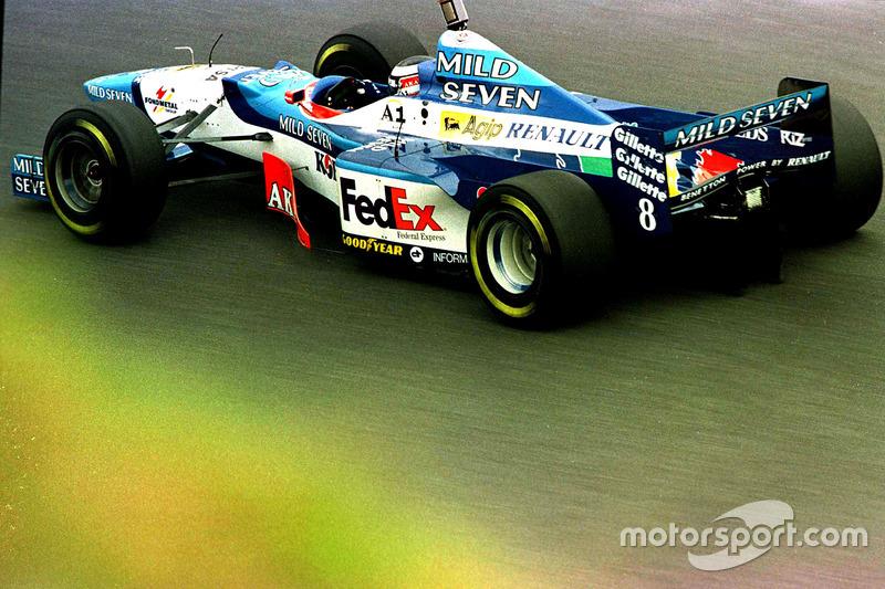 #8: Gerhard Berger, Benetton, B197