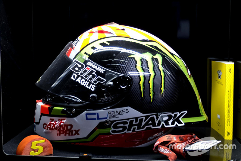 Helm von Johann Zarco, Monster Yamaha Tech 3