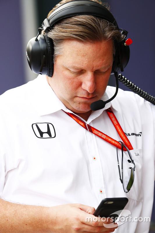 Zak Brown, Geschäftsfüher, McLaren Technology Group