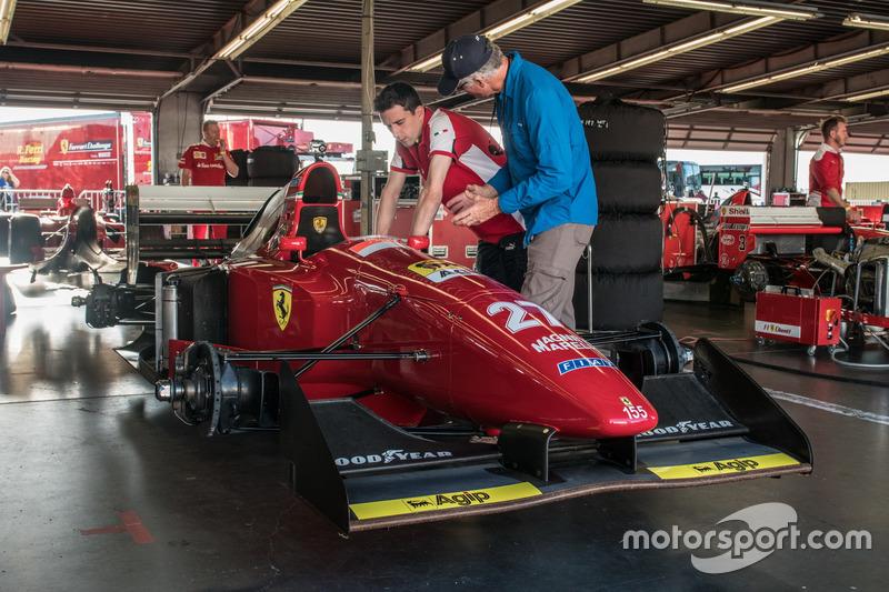 Ferrari 412 T1 B