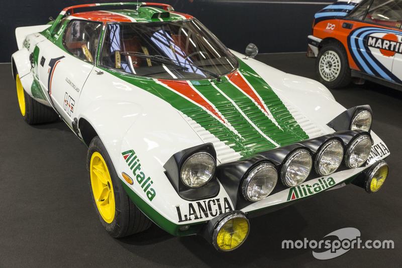 Lancia Stratos HF livrea Alitalia