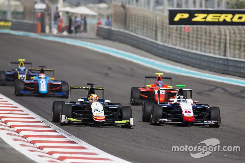 Alex Palou, Campos Racing y Sandy Stuvik, Trident & Tatiana Calderon, Arden International