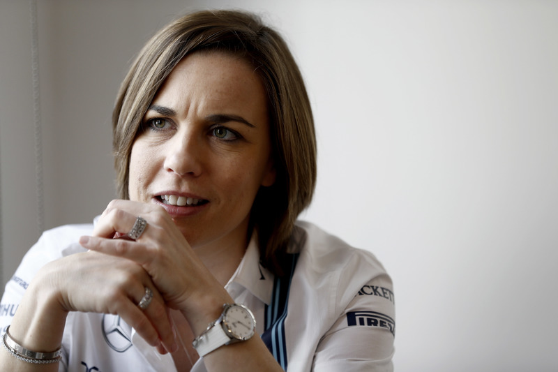 Claire Williams, Subdirector del equipo, Williams