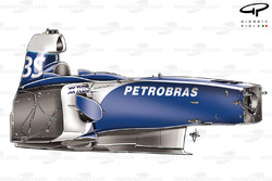 Williams FW28 chassis