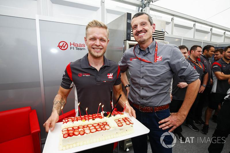 Кевін Магнуссен, Haas F1 Team, керівник Haas F1 Team Гюнтер Штайнер
