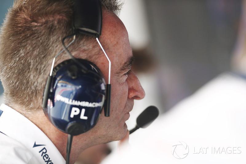 Падді Лоу, Williams F1