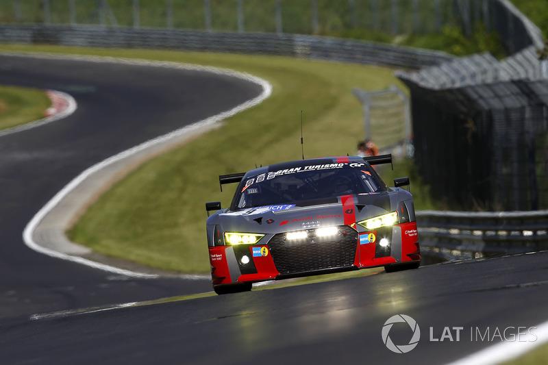 4. #9 Audi Sport Team WRT, Audi R8 LMS