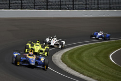 Alexander Rossi, Herta - Andretti Autosport Honda, Simon Pagenaud, Team Penske Chevrolet