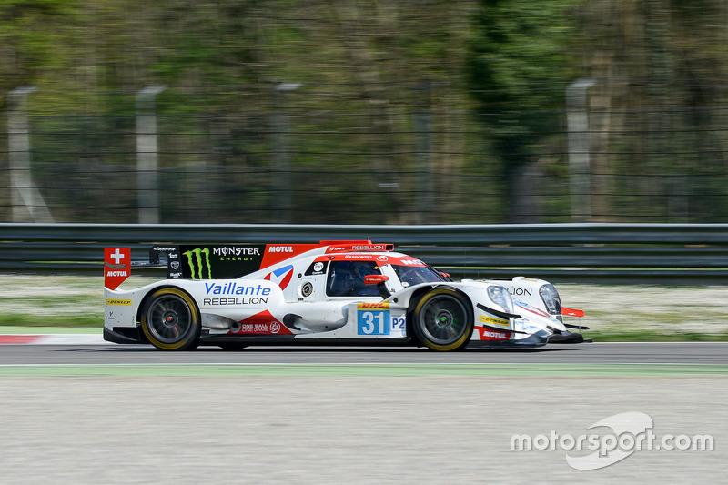 #31 Vaillante Rebellion Racing, Oreca 07 Gibson: Julien Canal, Bruno Senna