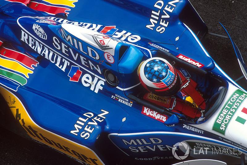1995 San Marino GP, Benetton B195