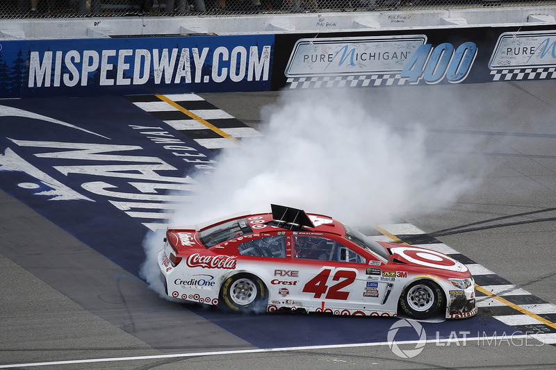 Brooklyn (Michigan): Kyle Larson (Ganassi-Chevrolet)