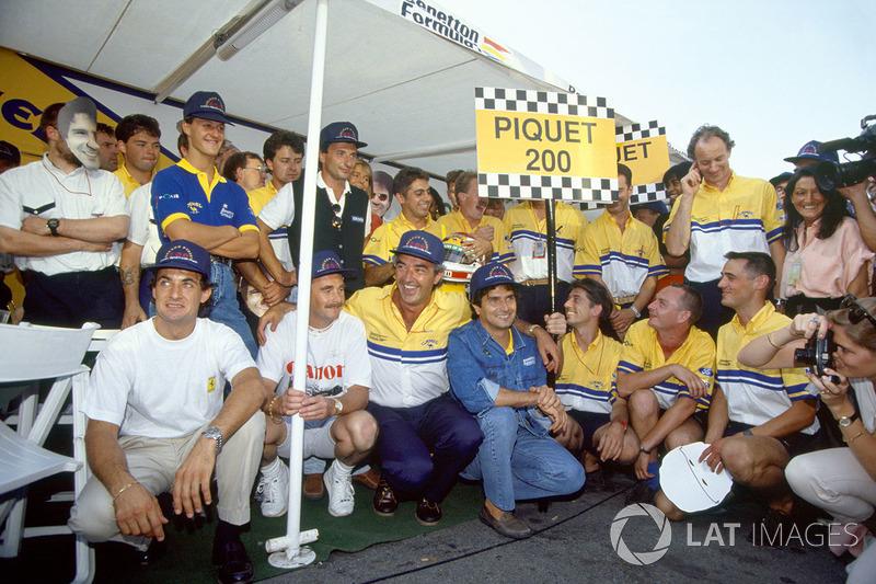 Nelson Piquet - 204 Grands Prix