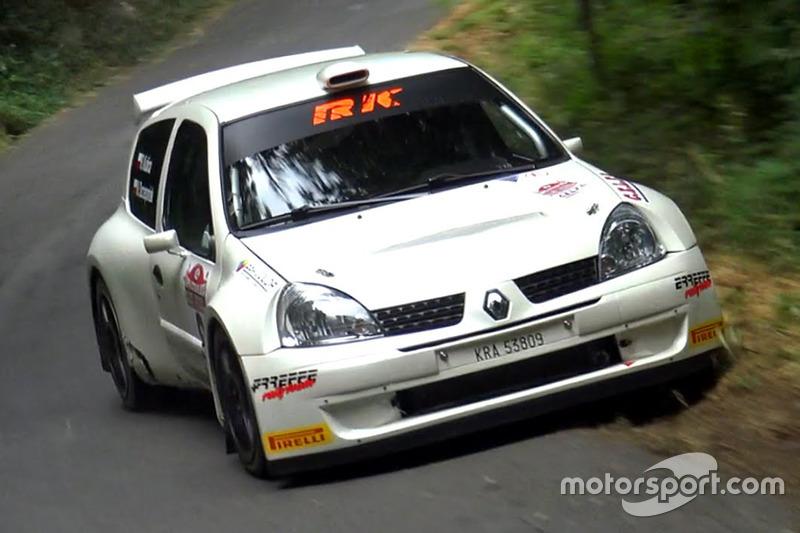 Robert Kubica, Maciek Szczepaniak, Rally Coppa Citta di Lucca, Renault