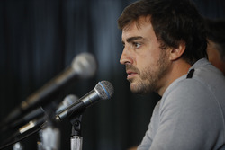 Fernando Alonso press conference