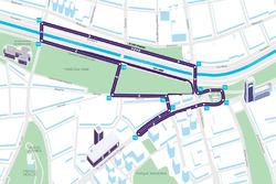 خريطة حلبة سانتياغو