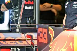 Max Verstappen, Red Bull Racing RB13: Motorhaube