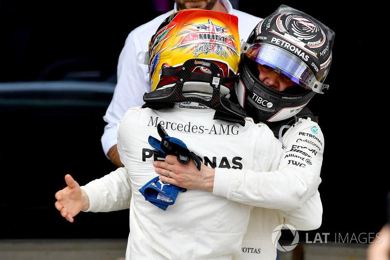 Льюіс Хемілтон, Mercedes AMG F1, Валттері Боттас, Mercedes AMG F1