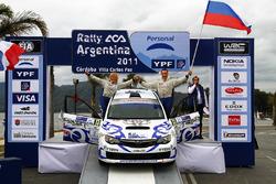 Дмитрий Тагиров и Анна Завершинская, Ралли Аргентина 2011 года, Subaru Impreza WRX STi