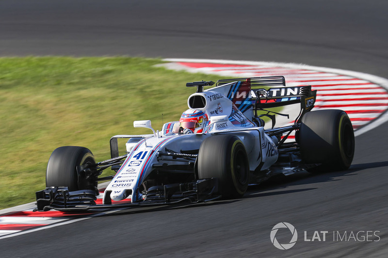 Luca Ghiotto, Williams FW40