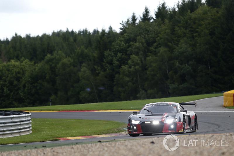 #1 Audi Sport Team WRT Audi R8 LMS: Антоніо Гарсія, Ніко Мюллер, Рене Раст