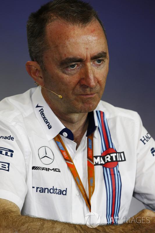 Падді Лоу, Williams Formula 1