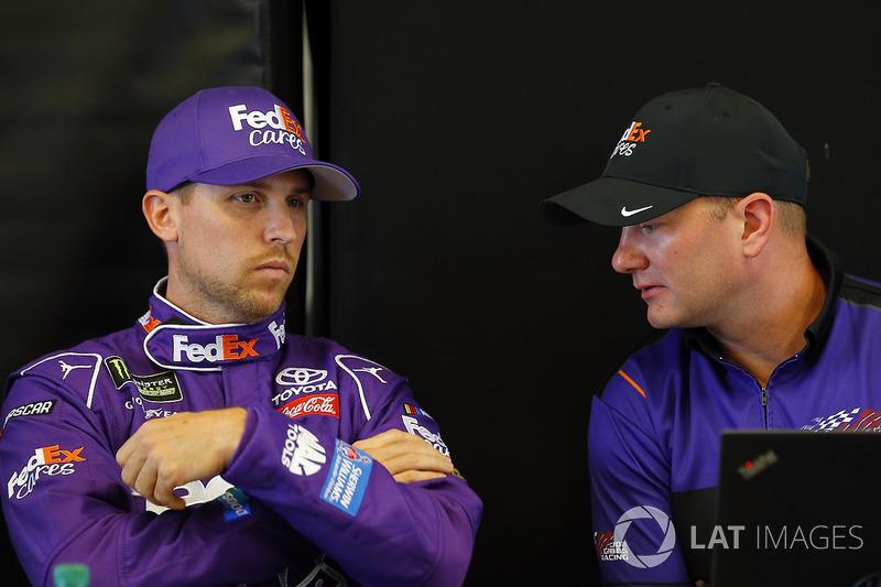 Denny Hamlin, Joe Gibbs Racing Toyota, Michael Wheeler