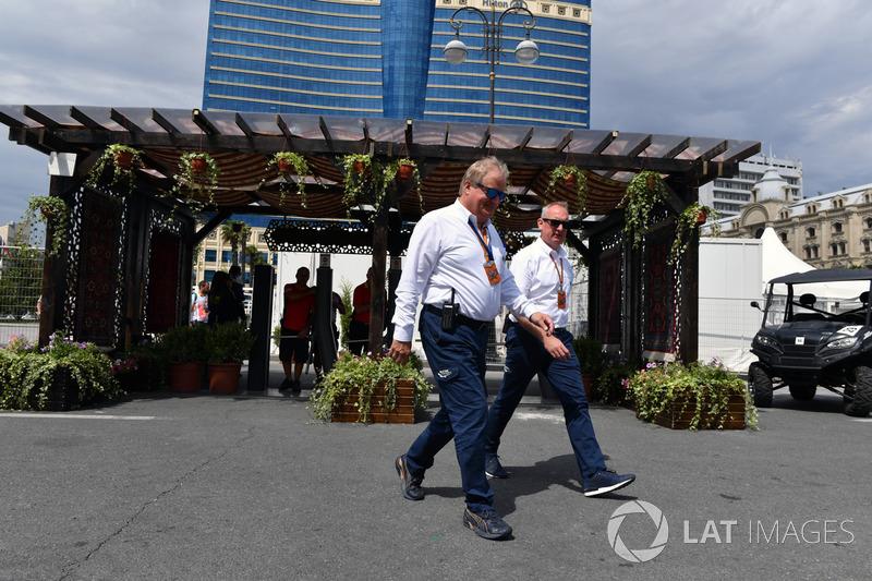 Технічний делегат FIA Йо Бауер