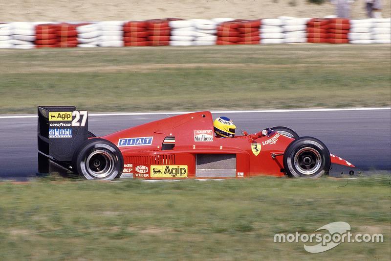 1986: Michele Alboreto, Ferrari F186