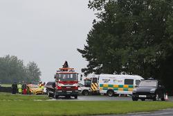 Scena dell'incidente di Luke Davenport, Motorbase Performance Ford Focus