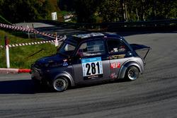 Ettore Liberato, Sport Favale, Fiat 500 Giannini