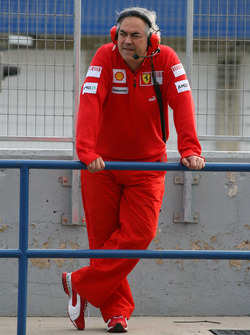 Руководитель тестовой бригады Ferrari Луиджи Маццола