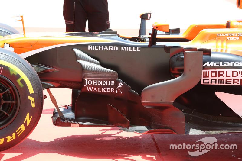 Деталь McLaren MCL32 Фернандо Алонсо