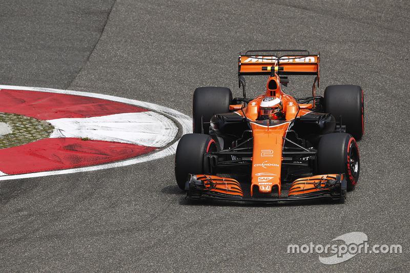 Ausfall: Stoffel Vandoorne, McLaren MCL32