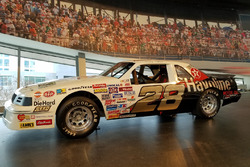 Davey Allison's rookie car in Cup from 1987 in the NASCAR Hall of Fame