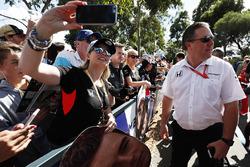 Исполнительный директор McLaren Technology Group Зак Браун