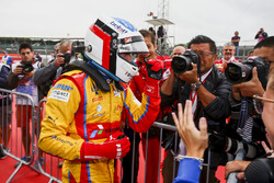 Race winner Giuliano Alesi, Trident