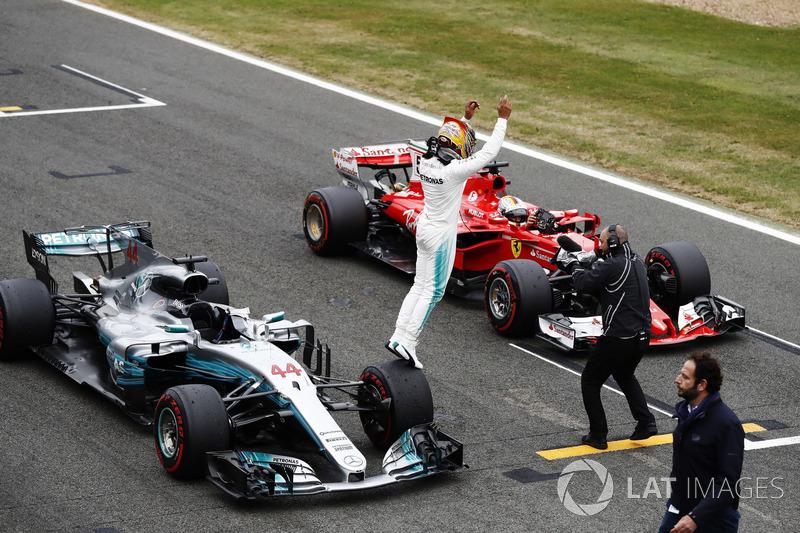 Льюіс Хемілтон, Mercedes AMG F1 W08, Себастьян Феттель, Ferrari