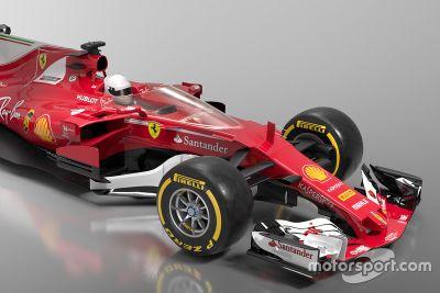 Conceito de escudo da Ferrari