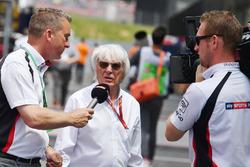 Craig Slater, Sky TV habla con Bernie Ecclestone