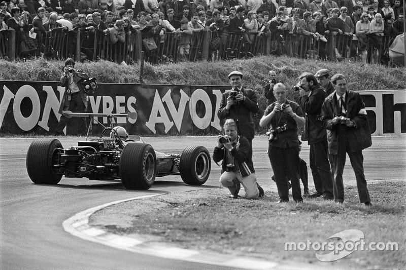 Денні Х'юм, McLaren Ford-Cosworth