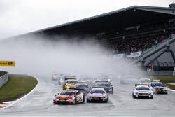 Start zum DTM-Samstagsrennen am Nürburgring
