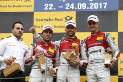Podium: 1. René Rast, Audi Sport Team Rosberg, Audi RS 5 DTM; 2. Mike Rockenfeller, Audi Sport Team
