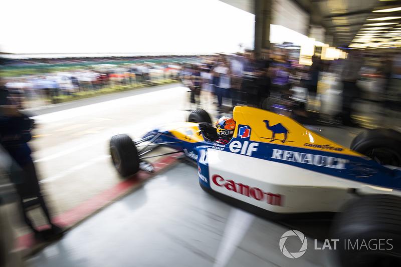 Карун Чандок, Williams FW14B Renault