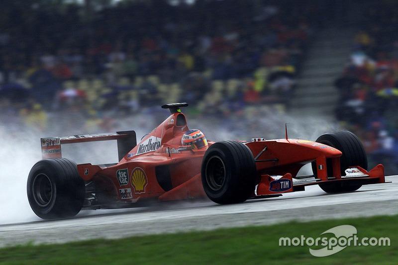 2000: Рубенс Баррикелло, Ferrari F1-2000