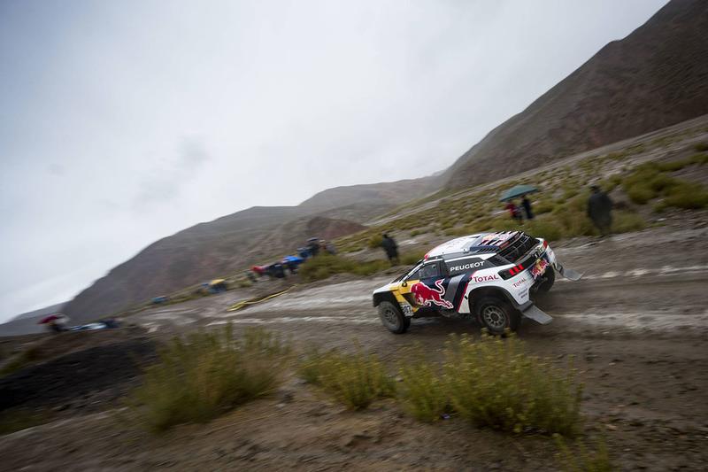 #307 Peugeot Sport: Cyril Despres, David Castera