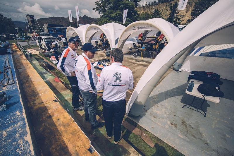 Bruno Famin, Team Peugeot Sport con Jean-Philippe Imparato
