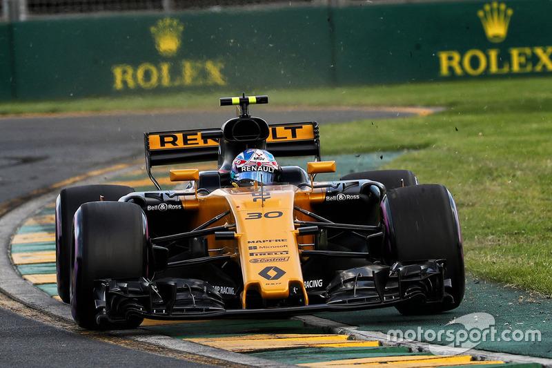 НФ. Джолион Палмер (Renault)