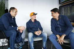 Gerhard Berger, ITR Chairman and Max Verstappen, Red Bull Racing, Florian Zitzlsperger, 2nd ITR Chairman